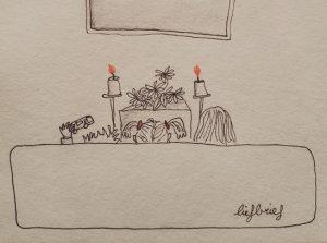 Vandaag nemen kleine Zoë, Nora en Mickey afscheid van hun lieve oma. Zij hield wel van plagerijtjes en ook vandaag... laat zij nog één keer van zich horen.